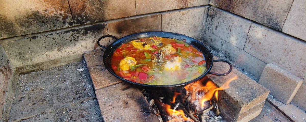 paella al horno